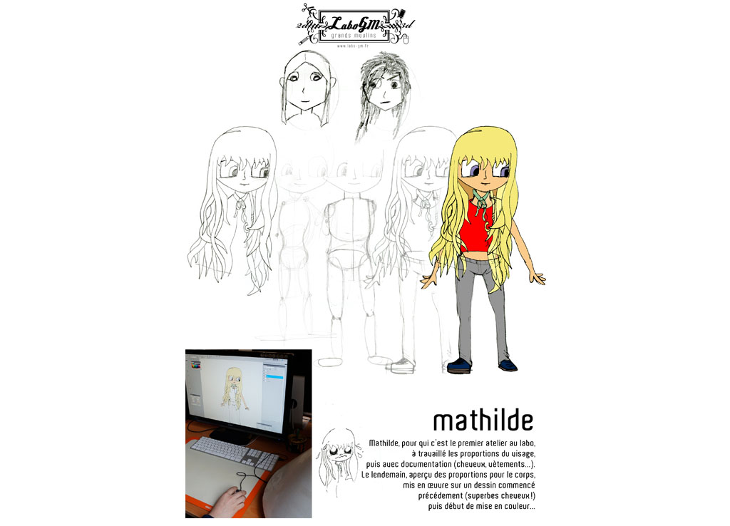 Les filles dessinent