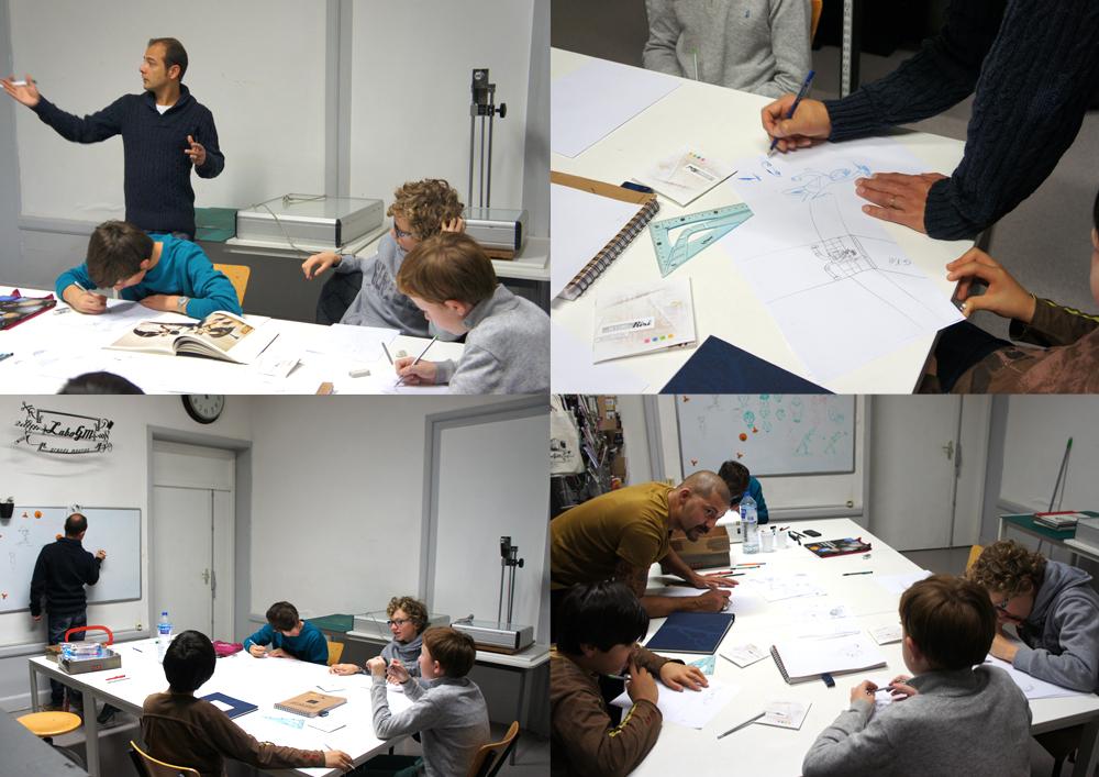 Atelier Dessin au laboGM avec Eric Martin #2