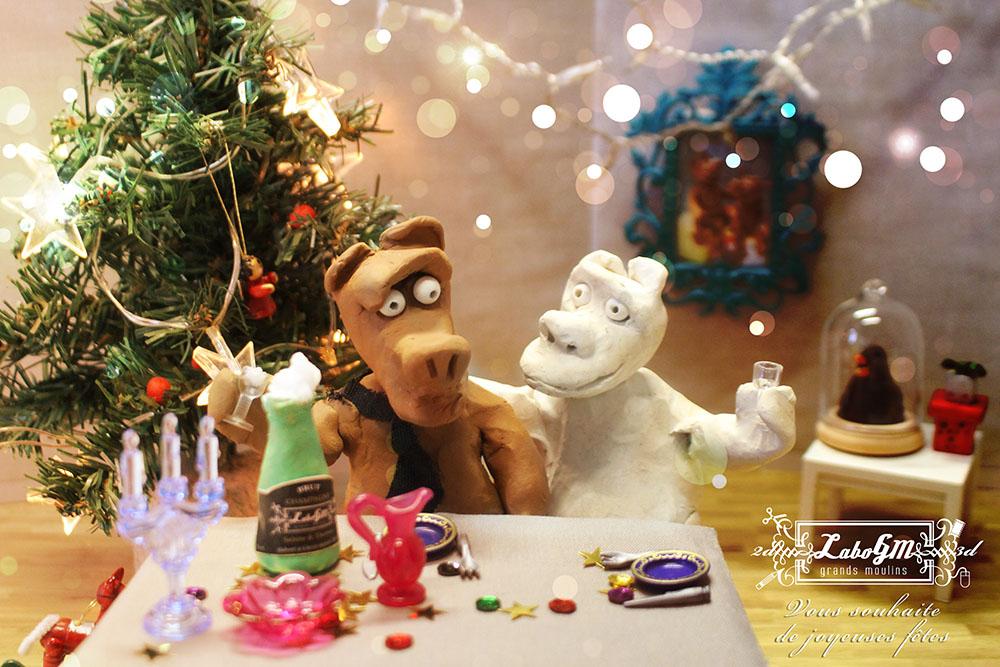 Joyeux Noël du LaboGM !
