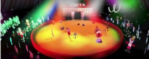 Le cirque, dessin et tablette, ecole Fernand Gayot Limas