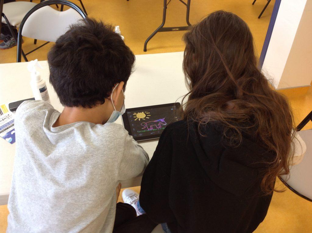 Atelier découverte du Stop Motion à la médiathèque de Ternay